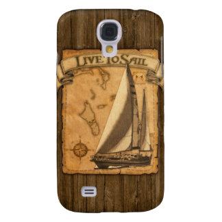 Live To Sail Samsung S4 Case