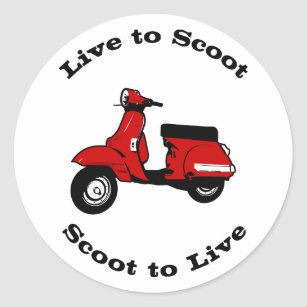 TARGET IN LAUREL SCOOTER MOD BADGE GOLD OR SILVER PLATE RED
