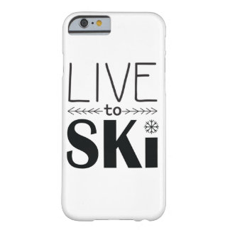 Live to Ski iPhone 6/6s case