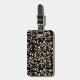 Live To Tell The Tale Pattern Bag Tag