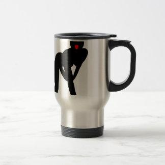 Live to twerk 15 oz stainless steel travel mug