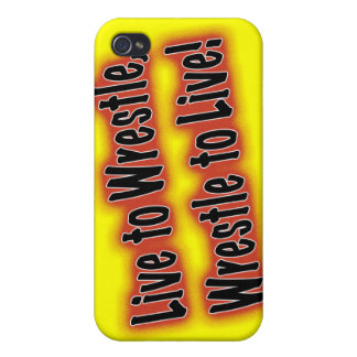 Live to Wrestle, Wrestle to Live iPhone 4 Covers