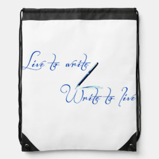 Live To Write Backpack