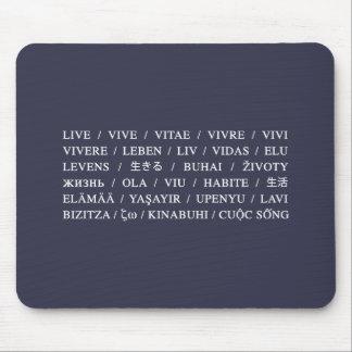 Live Vive - Daily Life Motivation Mouse Pad