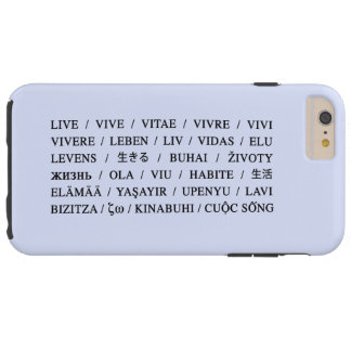 Live Vive - Daily Life Motivation Tough iPhone 6 Plus Case