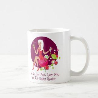 Live Well, Love Much Coffee Mug