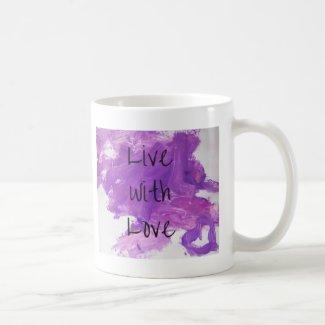 Live with Love Mug