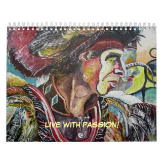 LIVE WITH PASSION! CALENDAR
