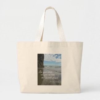Live your beliefs and you can turn the world .... bags