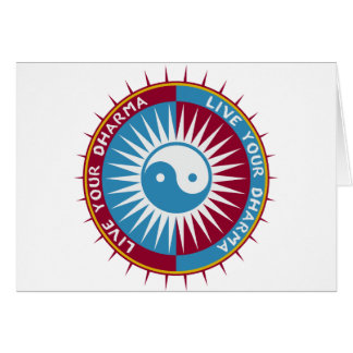 Live Your Dharma Card