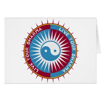 Live Your Dharma Card