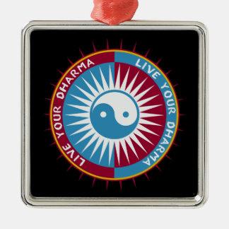 Live Your Dharma Christmas Tree Ornament