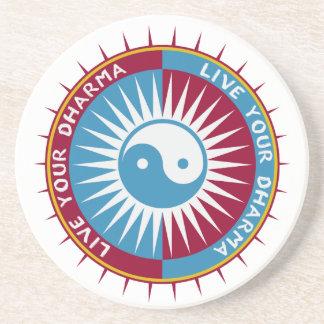 Live Your Dharma Coaster