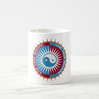 Live Your Dharma Coffee Mug