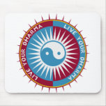 Live Your Dharma Mouse Pads