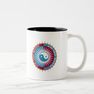 Live Your Dharma Two-Tone Coffee Mug