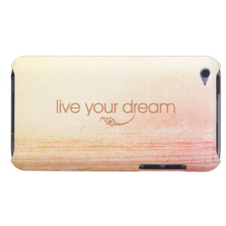 Live Your Dream Barely There iPod Cover