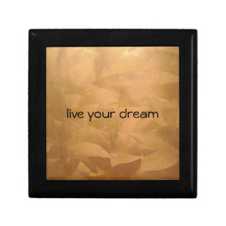 Live Your Dream Tile Gift Box
