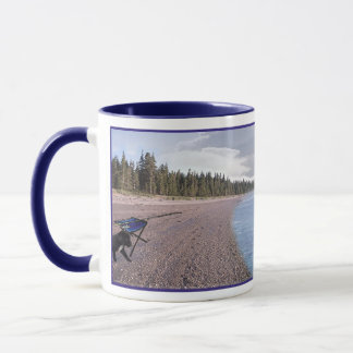 Live your Dreams Coffee Mug Black Lab Version
