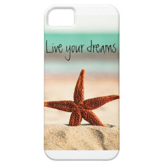Live your dreams in the summer iPhone SE/5/5s case