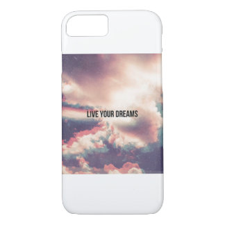Live your dreams iPhone 8/7 case