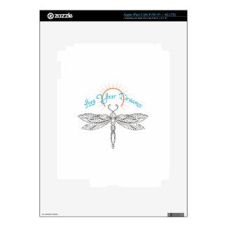 LIVE YOUR DREAMS iPad 3 SKIN