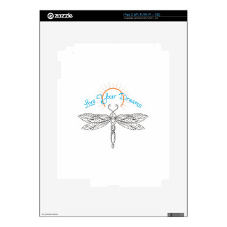 LIVE YOUR DREAMS SKINS FOR THE iPad 2
