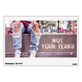 Live Your Dreams wall decals