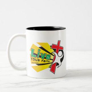 LIve Your Faith Mug