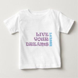 Live Your Lacrosse Dreams Baby T-Shirt