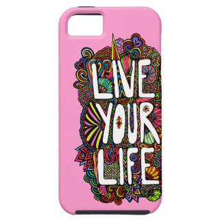 Live Your Life - Color iPhone 5 Cases