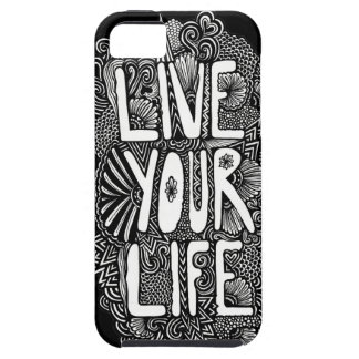 Live Your Life iPhone SE/5/5s Case