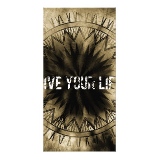 Live your life photo cards