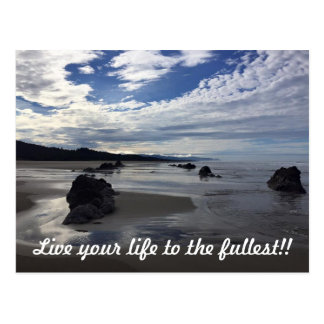Live your Life to the fullest Postcard
