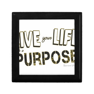 Live your Life with a Purpose Jewelry Box