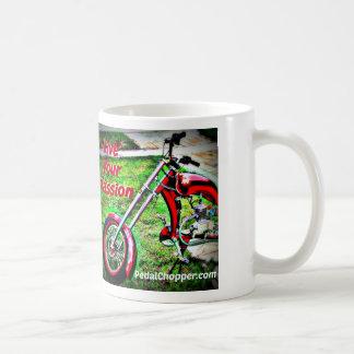 Live Your Passion Classic White Coffee Mug