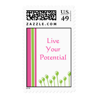 Live Your Potential Postage Stamps