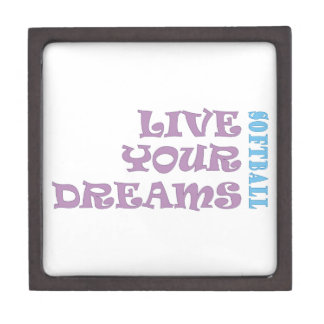 Live Your Softball Dreams Premium Gift Boxes