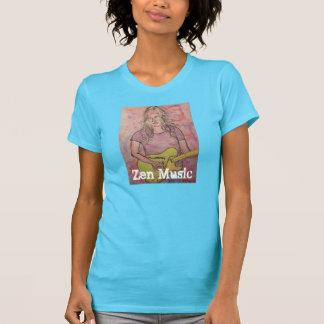 Live Zen Music Girl Sketch T-Shirt