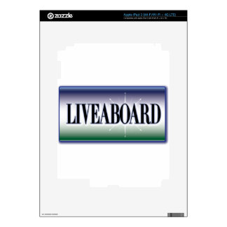 Liveaboard iPad 3 Decal