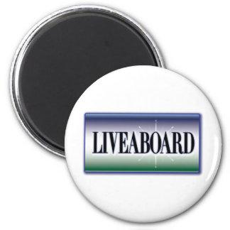 Liveaboard Magnet
