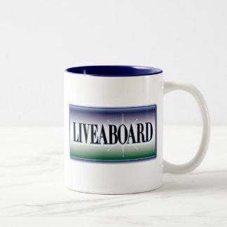 Liveaboard Two-Tone Coffee Mug
