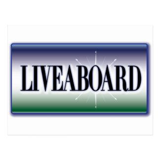 Liveaboard Postcard