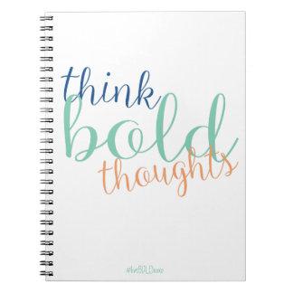 liveBOLDxoxo Think BOLD Thoughts Journal