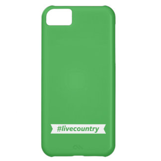 #LiveCountry Case For iPhone 5C
