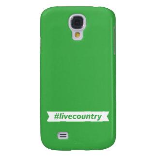 #LiveCountry Samsung Galaxy S4 Case