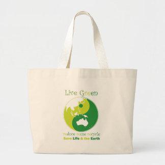 LiveGreen AustralAsia ying yang Bag