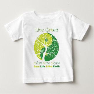 LiveGreen - Ying Yang Baby T-Shirt