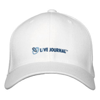 LiveJournal Logo Horizontal Embroidered Baseball Cap