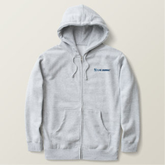 LiveJournal Logo Horizontal Embroidered Hoodie